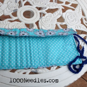 Crochet Hook Case Open but the Lid is closed