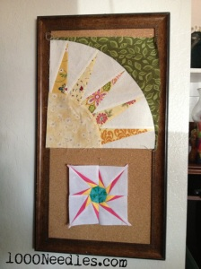 Foundation Paper Piecing  Test Samples