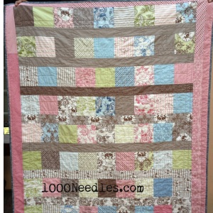 The back of Ammabel's quilt