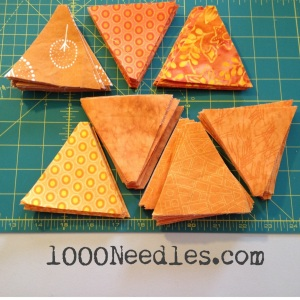 Celtic Solstice 240 Orange Trianbles of Step 1 11/30/13