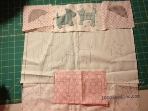 Raining Cats and Dogs Block 2 as of 12/9/13