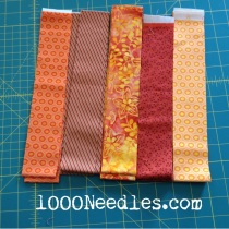 "Celtic Solstice - Step 3 Orange 2"" Strips 12/15/13"