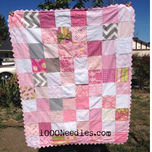 Sanchez' Baby Girl Quilt March 29, 2014