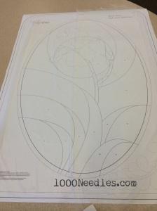 Iris Cameo pattern