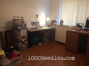 Sewing Area 7/19/14