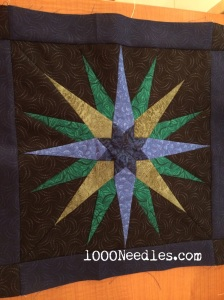 Moon Glow Block 6 - Sea of Fertility FINISHED July 26, 2014