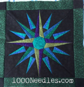 Moon Glow Block 10 - Sea of Serenity  Finished September 27, 2014