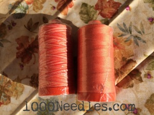 Yummy Colors for October.   2014 From The Quilt Bear Aurifil Club