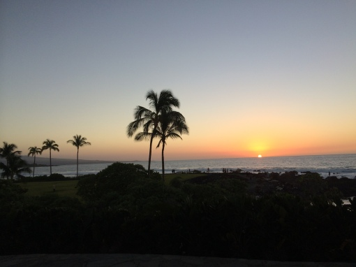 Waikoloa Beach Sunset Hawaii 12/28/2014