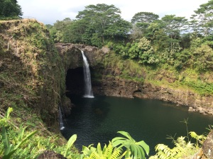 Rainbow Falls Lookout Hawaii 12/31/14