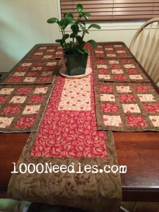 Table Runners 1/5/2015