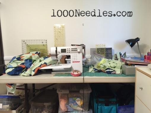 Sewing table What a Mess! 2/9/15