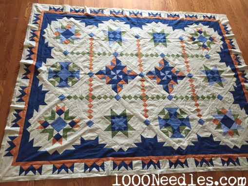 Tell It To The Stars Finished through  Border #4 2/18/15