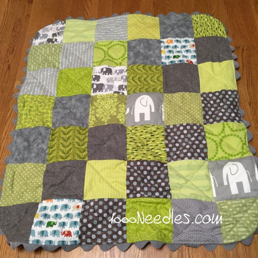 Mathias' Baby Quilt 2/21/2015