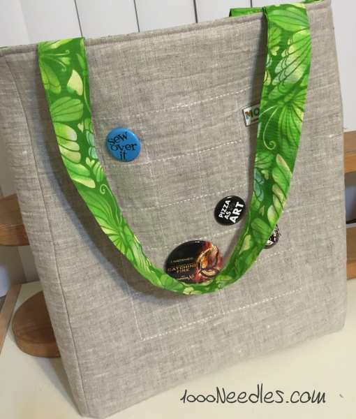 4/24/15 Project #1 of the Sew Practical book