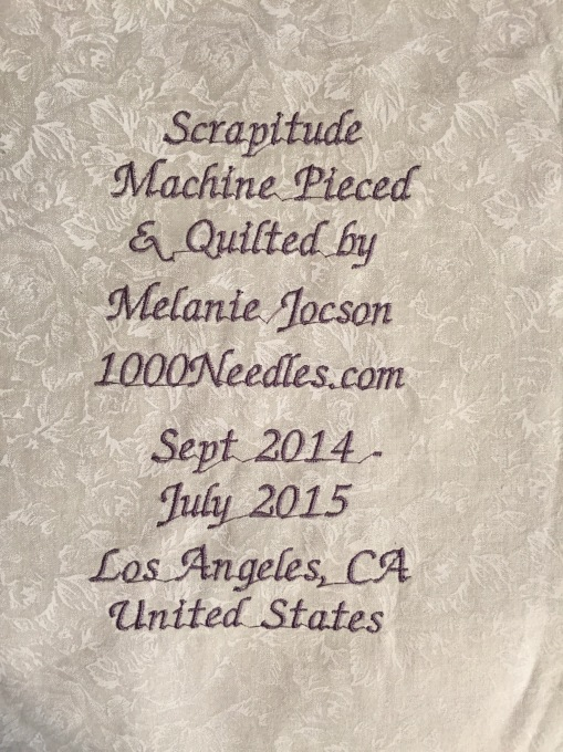 Scrapitude label prepped 6/14/2015 I better have this done in July, 2015!