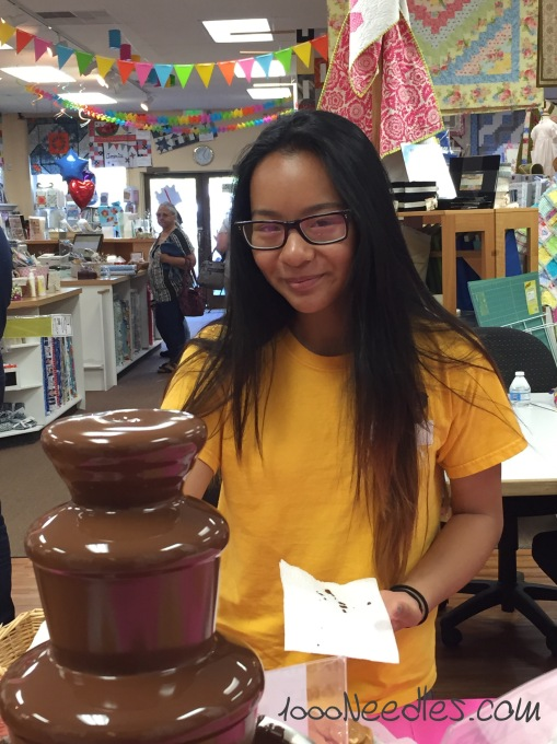 Cotton and Chocolate Chocolate Fountain 6/18/2015