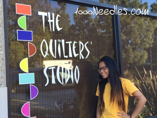Quilters Studio 6/18/2015