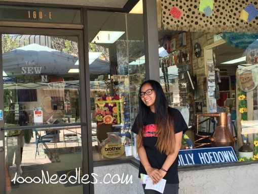Sew N Sew Glendora, CA 6/19/2015