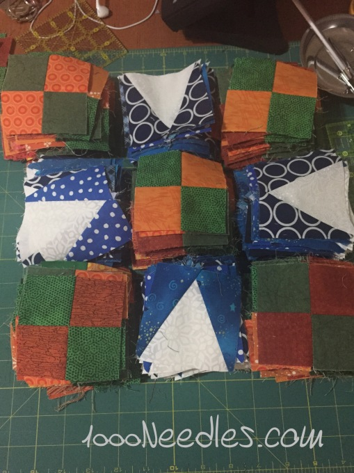 Celtic Solstice Step 6 - Block A In pieces 10/17/2015
