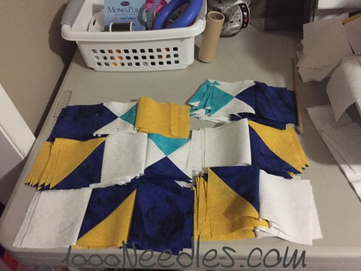 Missing Ivy Blocks for Step 6 ready to piece 10/29/2015