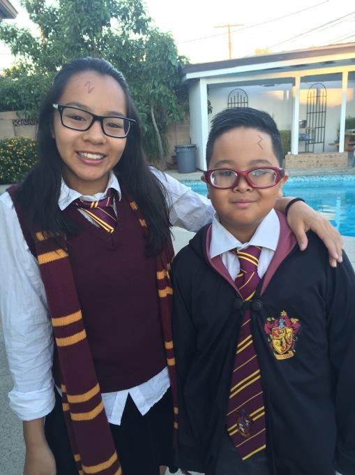 Potter Family 10/31/2015