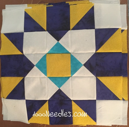 MIssing Ivy Step 6 9 finished blocks! 10/31/2015