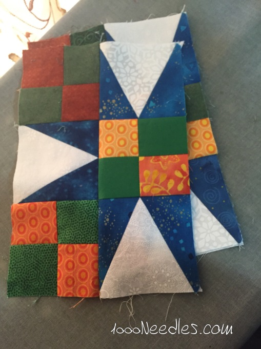 Celtic Solstice more partial blocks  made 12/9/2015
