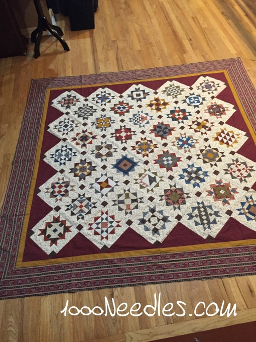 Hampton Ridge Border #2 finished finally 1/31/2016