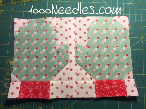 Have Yourself a Quilty Little Christmas! Month 1 - Block 1 7/13/16