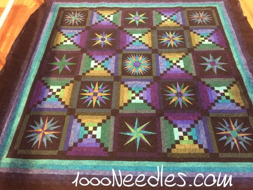 Moon Glow All Quilted! 7/10/2016