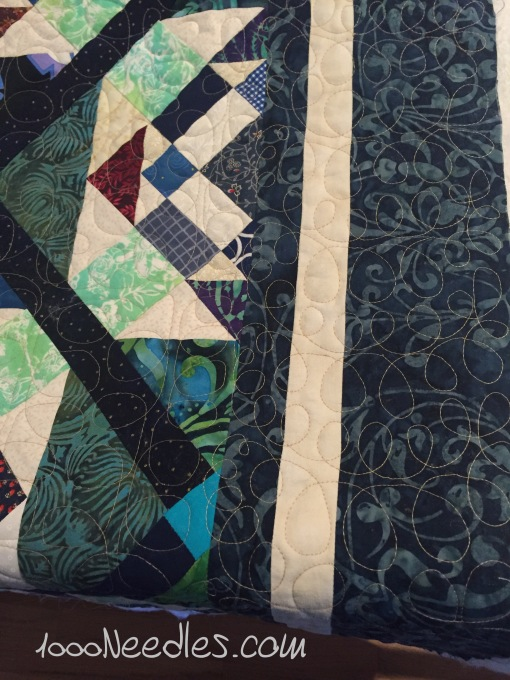 Scrapitude Close up of all of it quilted 3/14/2016