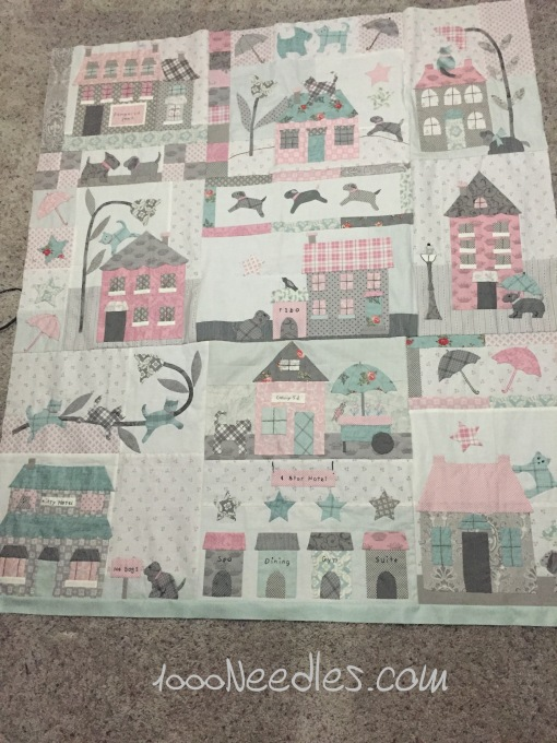 Raining Cats and dogs Border #1 -  one side attached 3/15/2016