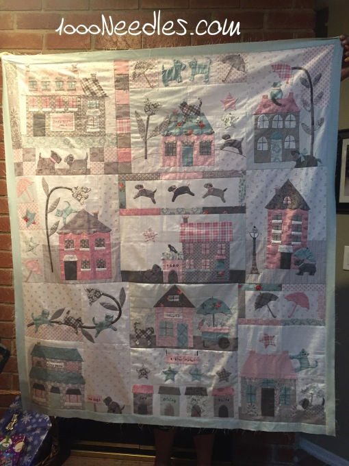 Raining Cats and Dogs Border #1 finished 3/18/2016