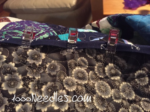 Scrapitude Starting the binding 3/21/2016
