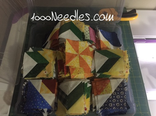 Celtic Solstice Block B Organized in a bin 4/23/16