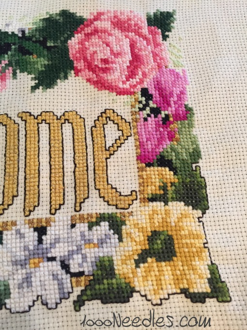 Welcome Project Cross Stitch 4/14/2016