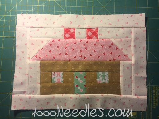 Have Yourself a Quilty Little Christmas! Month 2 - Block 1 7/26/16
