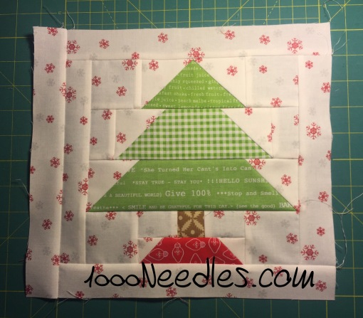 Have Yourself a Quilty Little Christmas! Month 2 - Block 2 7/29/16