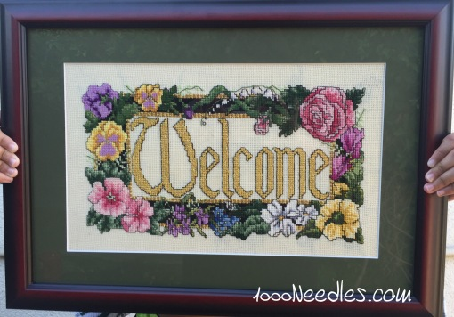 Welcome Project Framed 7/30/2016
