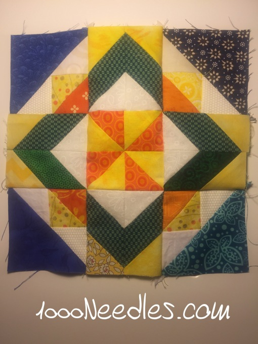 Celtic Solstice Block B Finally got 2 blocks done!   Now I only need 100 or so more to go! :)  woohoo!  9/9/2016