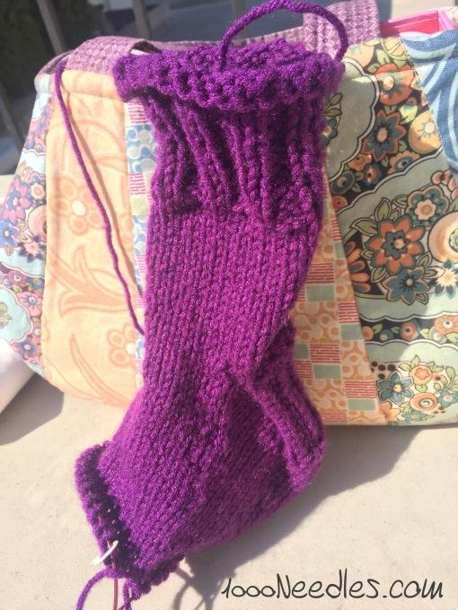 my right sock 10/8/2016