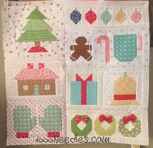 Have yourself a quilty little Christmas! 10/11/2016