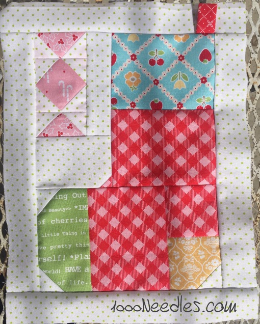 Have yourself a quilty little Christmas! October Kit Block 3 10/18/2016