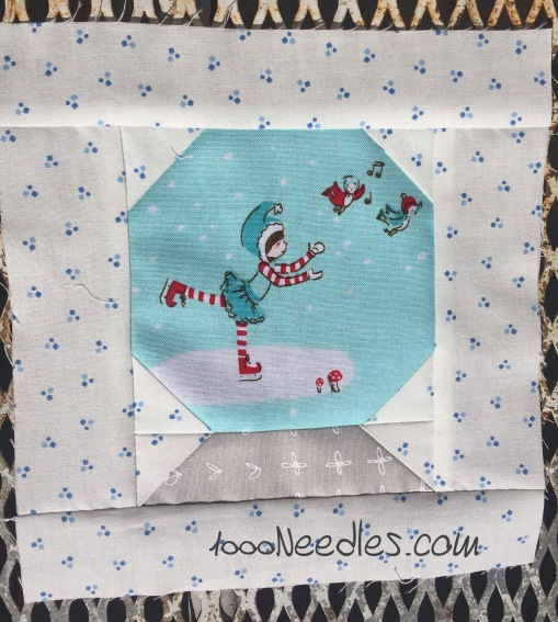 Have yourself a quilty little Christmas! October Kit Block 2 10/18/2016