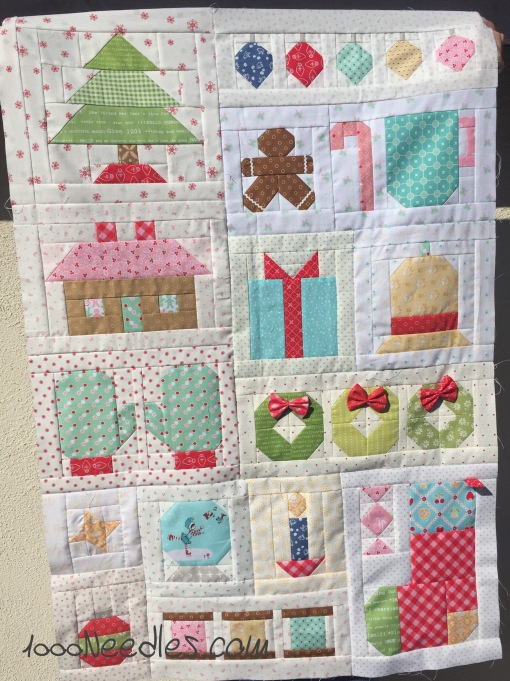 Have yourself a quilty little Christmas! 10/16/2016
