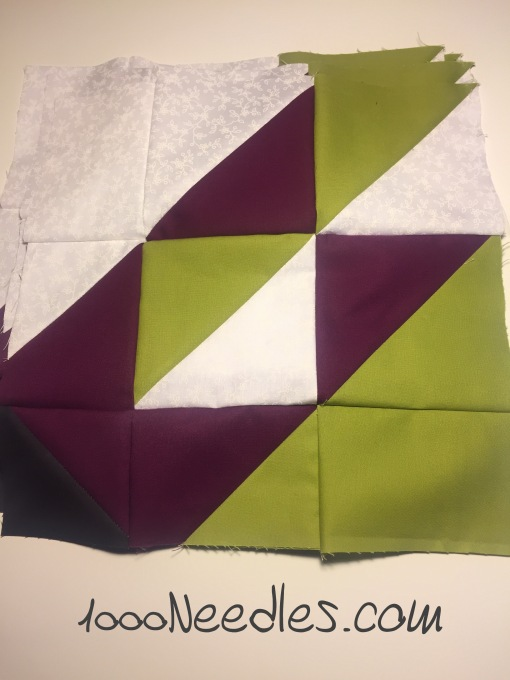 New Project!!! 2012 SoCal Quilt Run Mystery Quilt for Area 1 10/24/2016