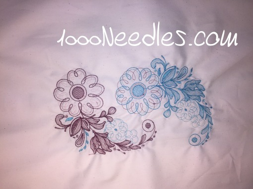 Embroidery Class 10/30/2016