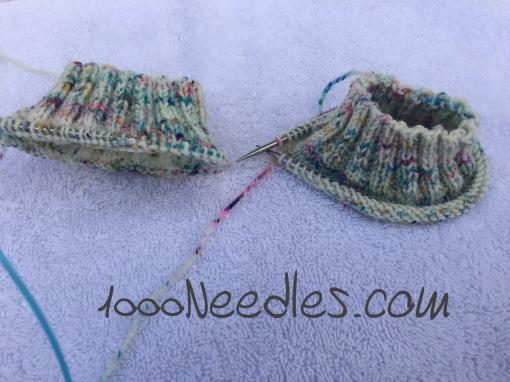 Snowberry socks 2/7/17