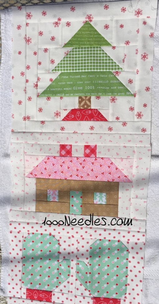 Have yourself a little quilty Christmas! 8/15/2016
